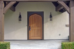 Door and Beams