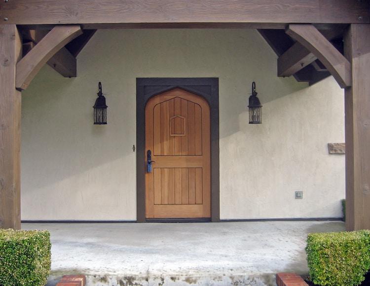 Door and Beams